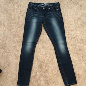 Express Stella Ultra Skinny Low Rise Jeans Legging